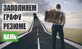 Цель трудоустройства в резюме – Как правильно указать желаемую должность
